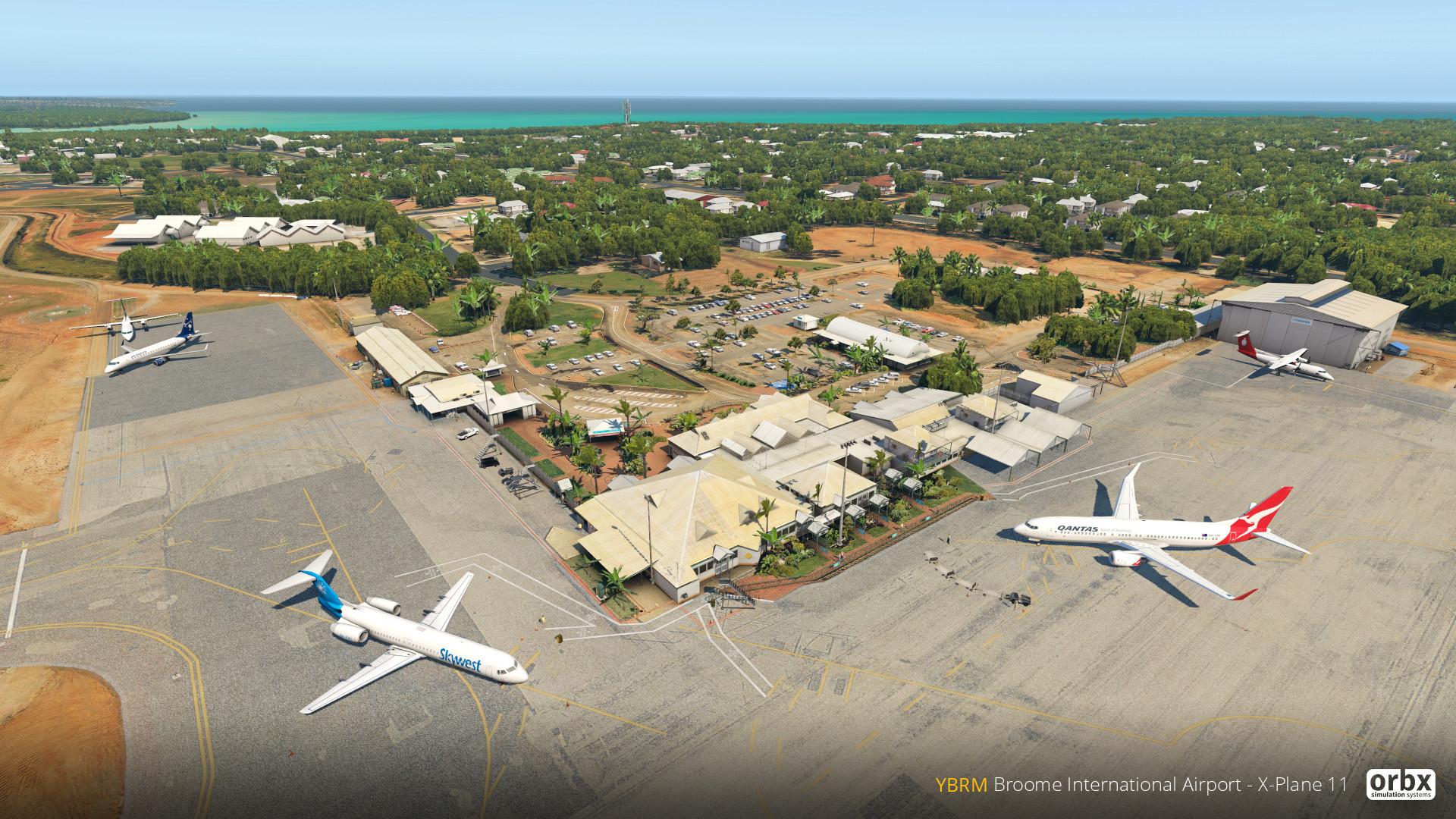 YBRM Broome International Airport - X-Plane 11