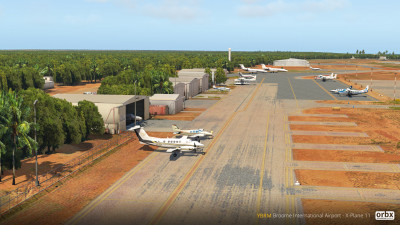 YBRM Broome International Airport - X-Plane 11 screenshot