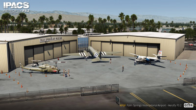 KPSP Palm Springs International Airport - Aerofly FS 2 screenshot