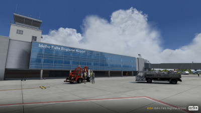 KIDA Idaho Falls Regional Airport screenshot