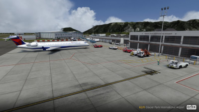 KGPI Glacier Park International Airport screenshot