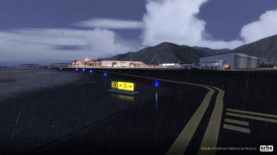 KSUN Friedman Memorial Airport screenshot