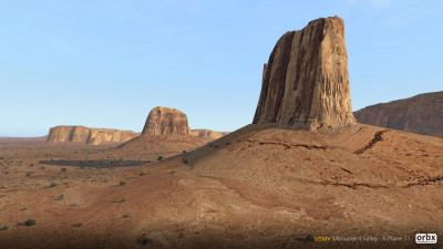 USMV Monument Valley - X-Plane 11 screenshot