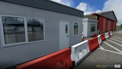 EGJA Alderney Airport screenshot