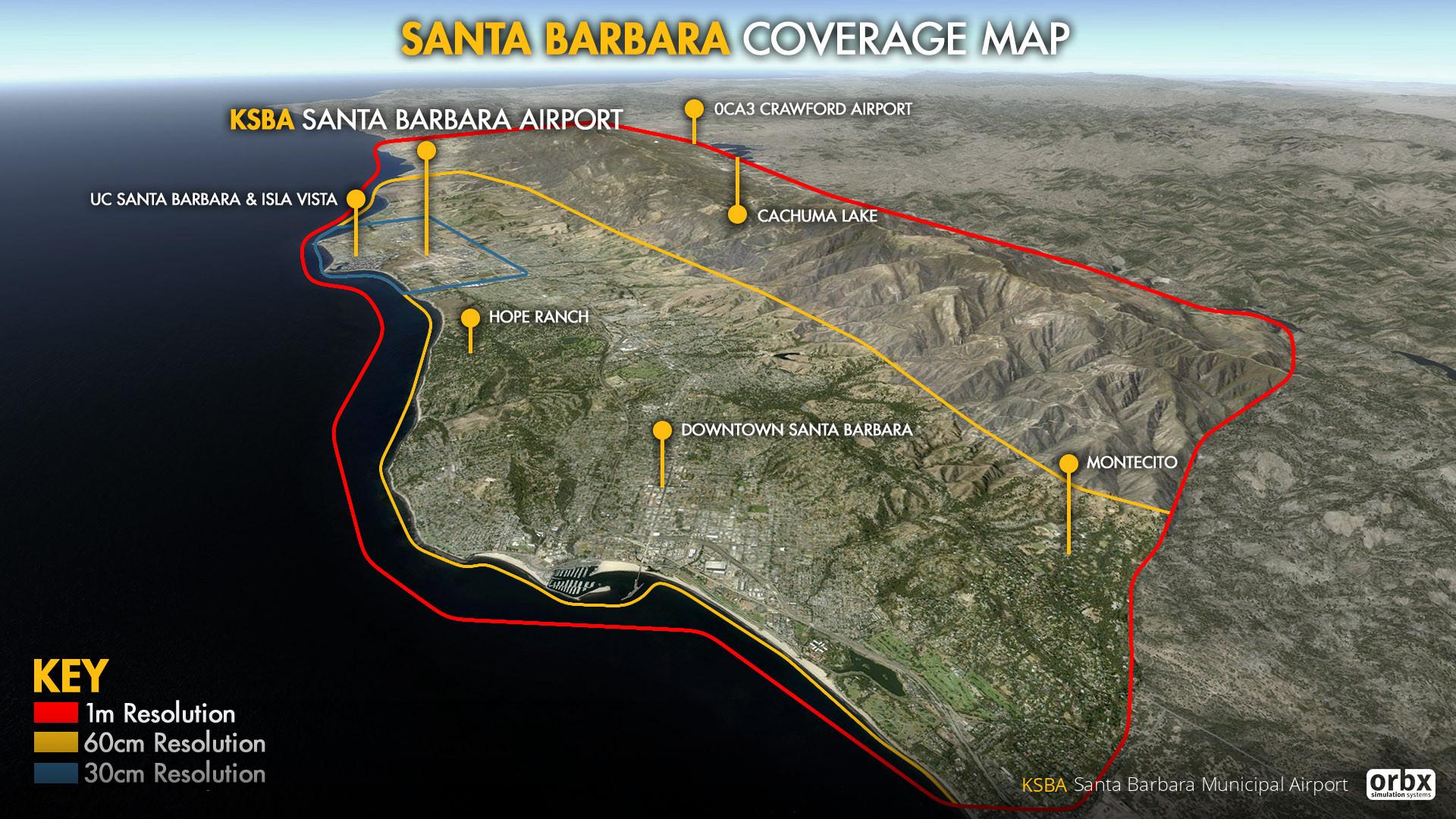 KSBA Santa Barbara Municipal Airport