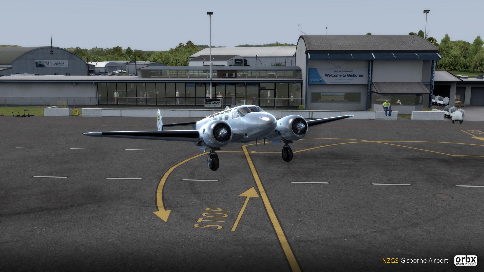 NZGS Gisborne Airport
