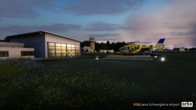 EDBJ Jena Schoengleina Airport screenshot