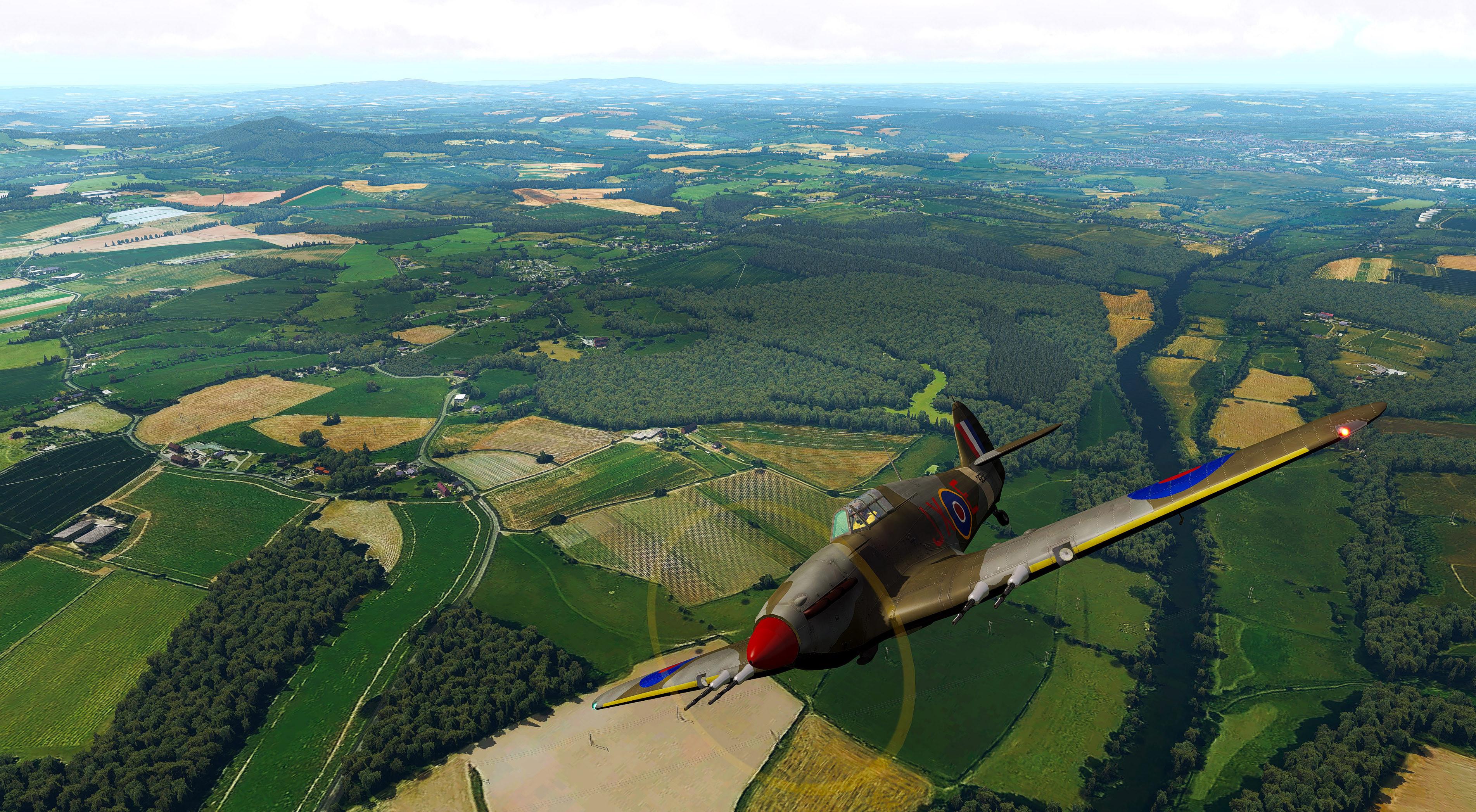 TrueEarth Great Britain South - X-Plane 11