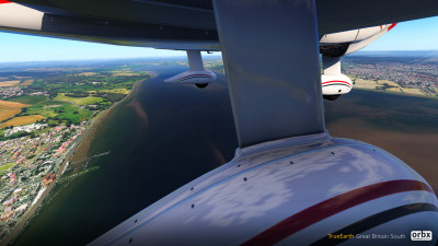TrueEarth Great Britain South - X-Plane 11 screenshot