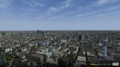 TrueEarth Great Britain South screenshot