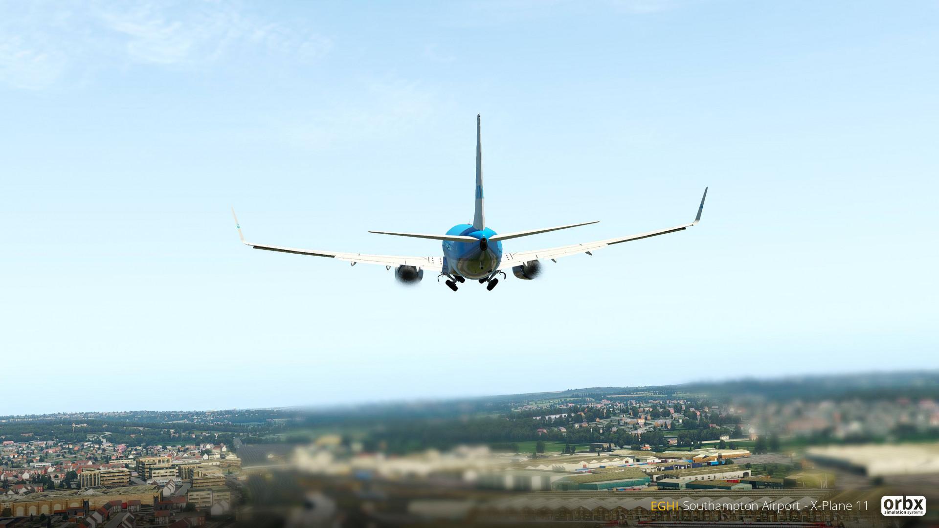 EGHI Southampton Airport - X-Plane 11