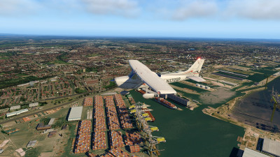 TrueEarth Great Britain Central - X-Plane 11 screenshot