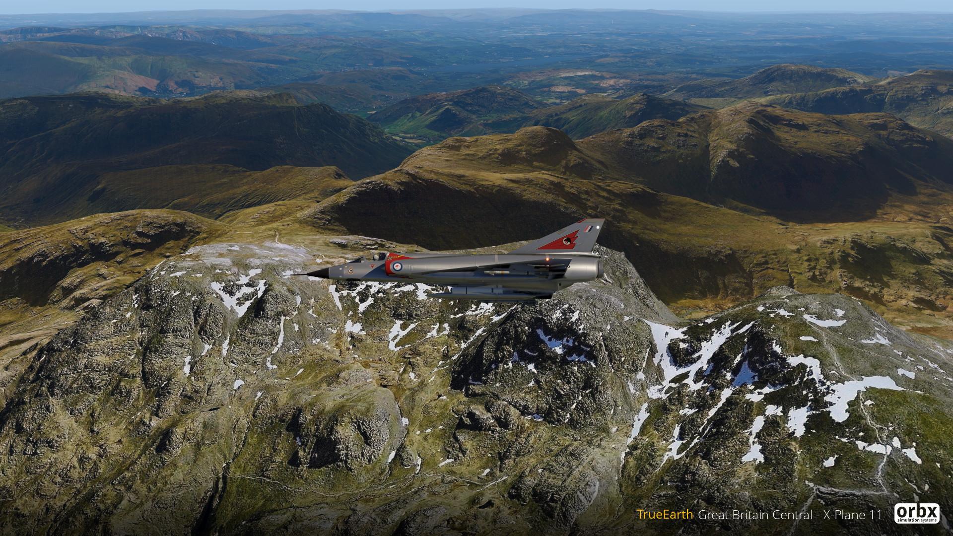 TrueEarth Great Britain Central - X-Plane 11