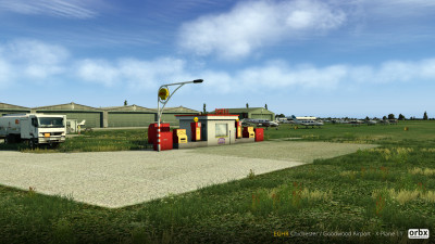 EGHR Chichester / Goodwood Airport - X-Plane 11 screenshot