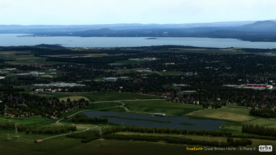 TrueEarth Great Britain North - X-Plane 11 screenshot
