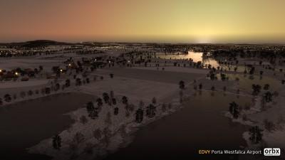 EDVY Porta Westfalica Airport screenshot