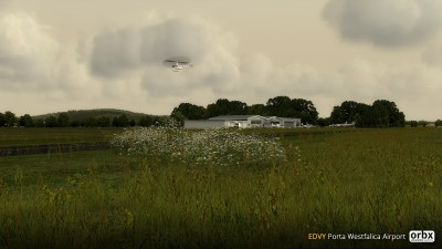 EDVY Porta Westfalica Airport screenshot