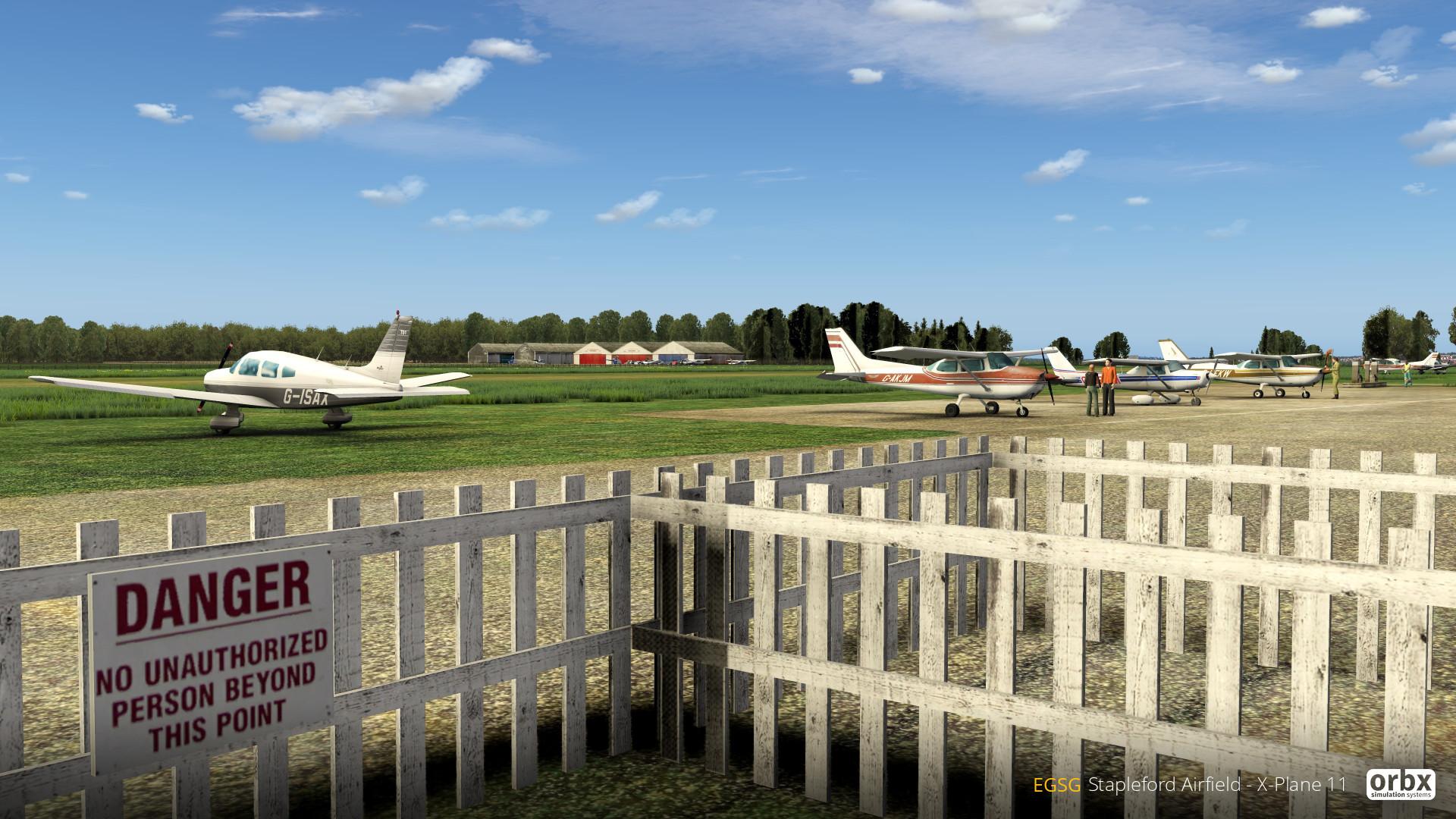 EGSG Stapleford Airfield
