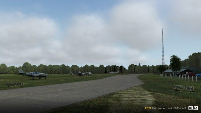 EGTF Fairoaks Airport - X-Plane 11 screenshot