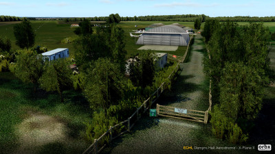 EGML Damyns Hall Aerodrome - X-Plane 11 screenshot