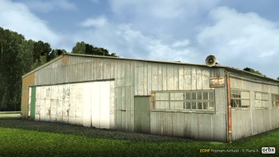 EGHP Popham Airfield - X-Plane 11 screenshot