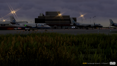 EGPB Sumburgh Airport - X-Plane 11 screenshot