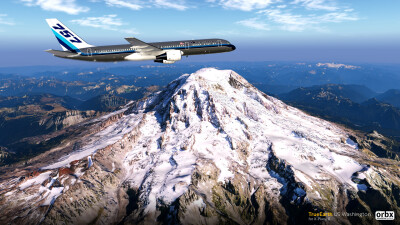 TrueEarth US Washington HD - X-Plane 11 screenshot