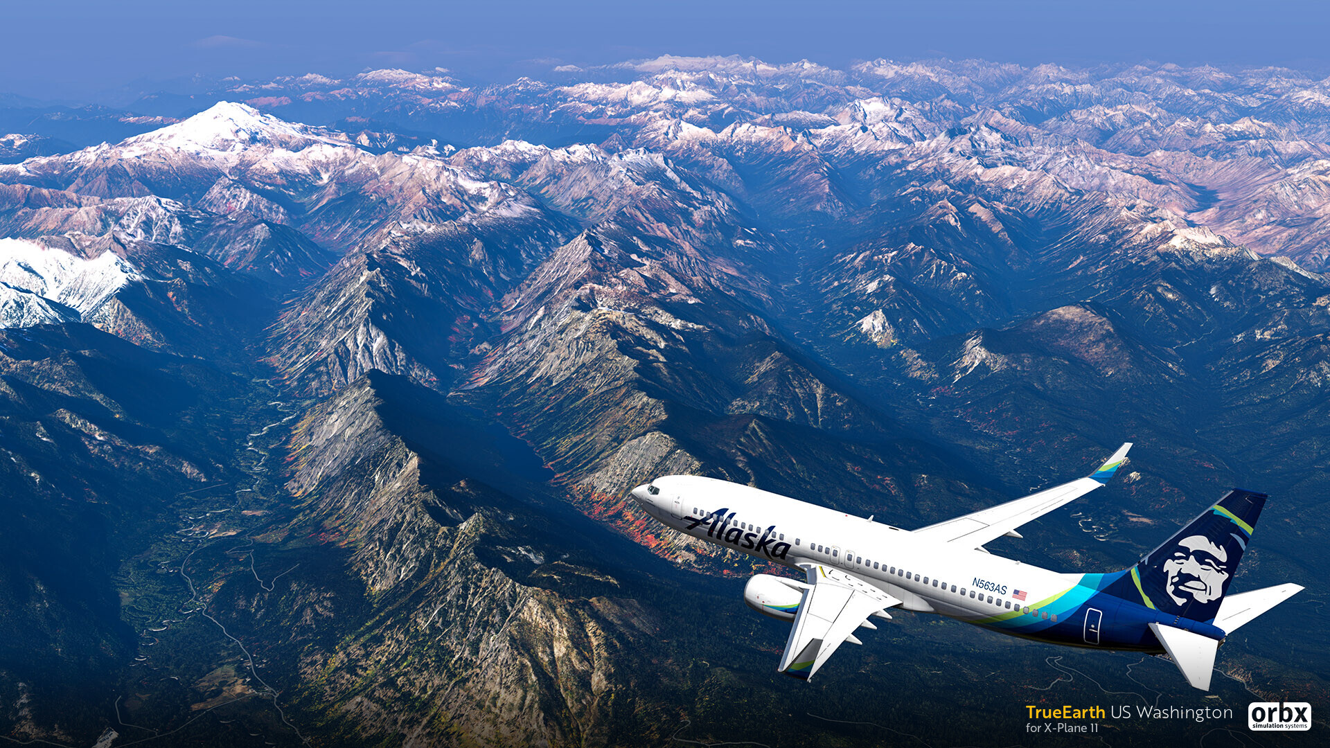 TrueEarth US Washington HD - X-Plane 11