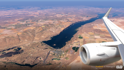 TrueEarth US Washington - X-Plane 11 screenshot