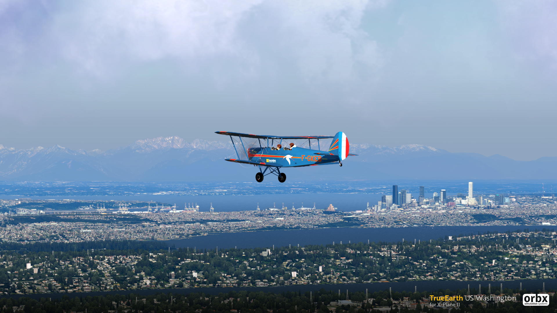 TrueEarth US Washington HD - X-Plane 11