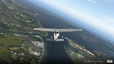 TrueEarth Great Britain South Demo - X-Plane 11 screenshot