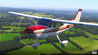 TrueEarth Great Britain South Demo - X-Plane 11 screenshot