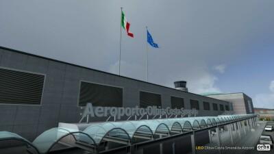 LIEO Olbia Costa Smeralda Airport screenshot