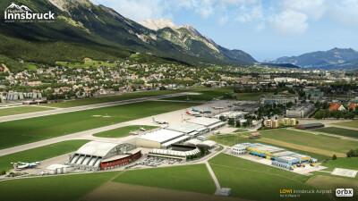 LOWI Innsbruck Airport - X-Plane 11 screenshot