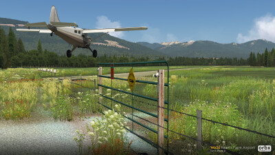 WA56 Israel's Farm Airport - X-Plane 11 screenshot
