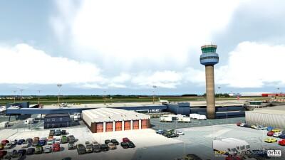 EGNX East Midlands Airport - X-Plane 11 screenshot
