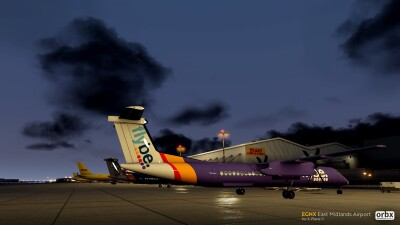 EGNX East Midlands Airport - X-Plane 11 screenshot
