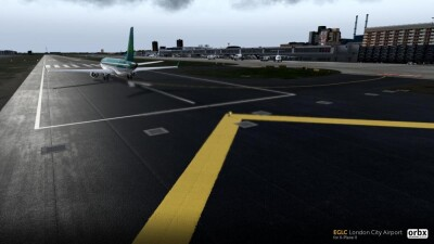 EGLC London City Airport - X-Plane 11 screenshot