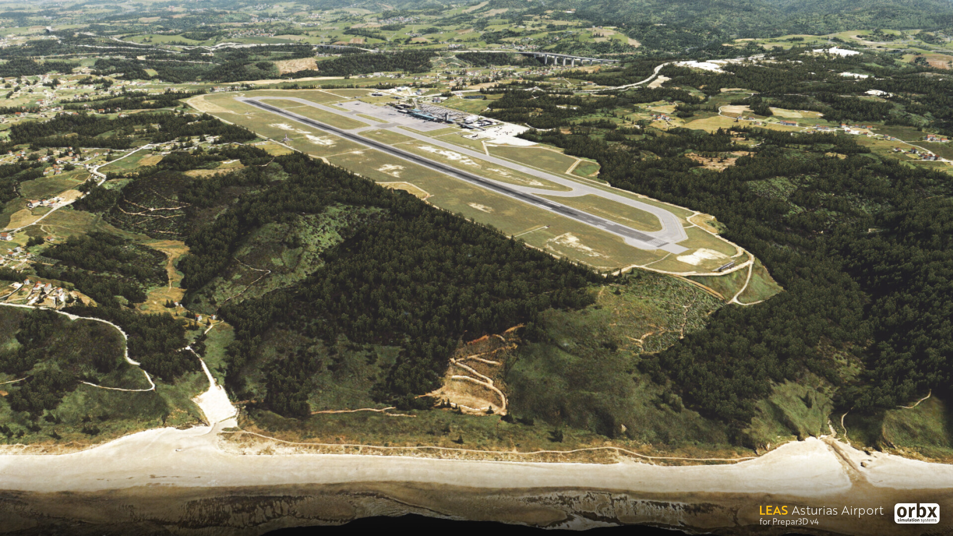 LEAS Asturias Airport - Orbx