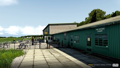 EGHA Compton Abbas Airfield - X-Plane 11 screenshot