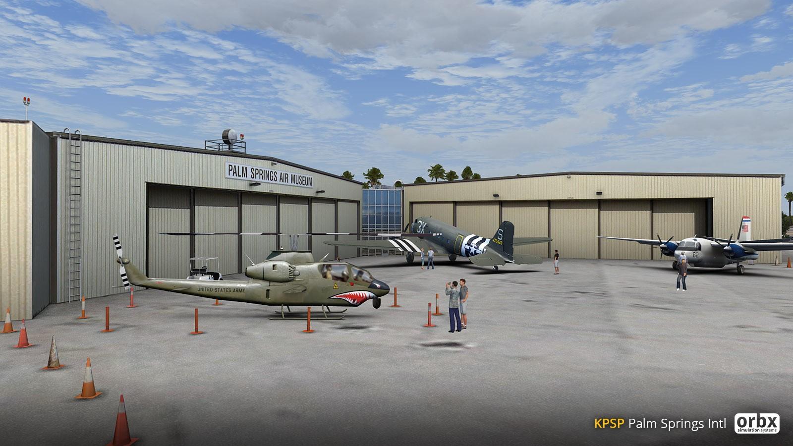 KPSP Palm Springs International Airport