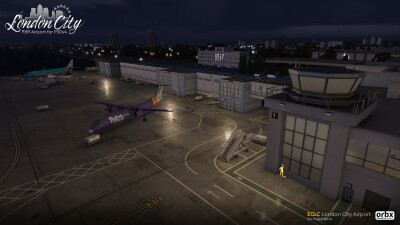 EGLC London City Airport screenshot