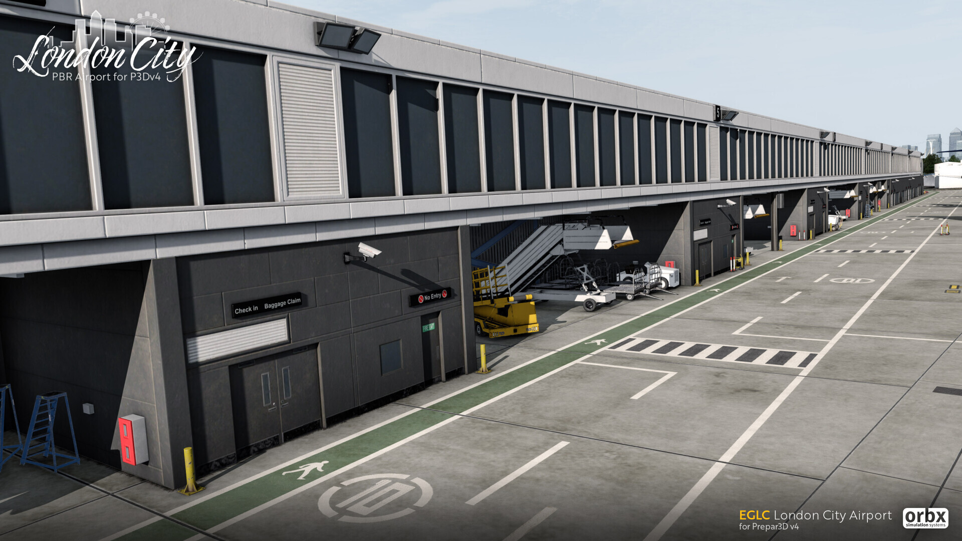 EGLC London City Airport
