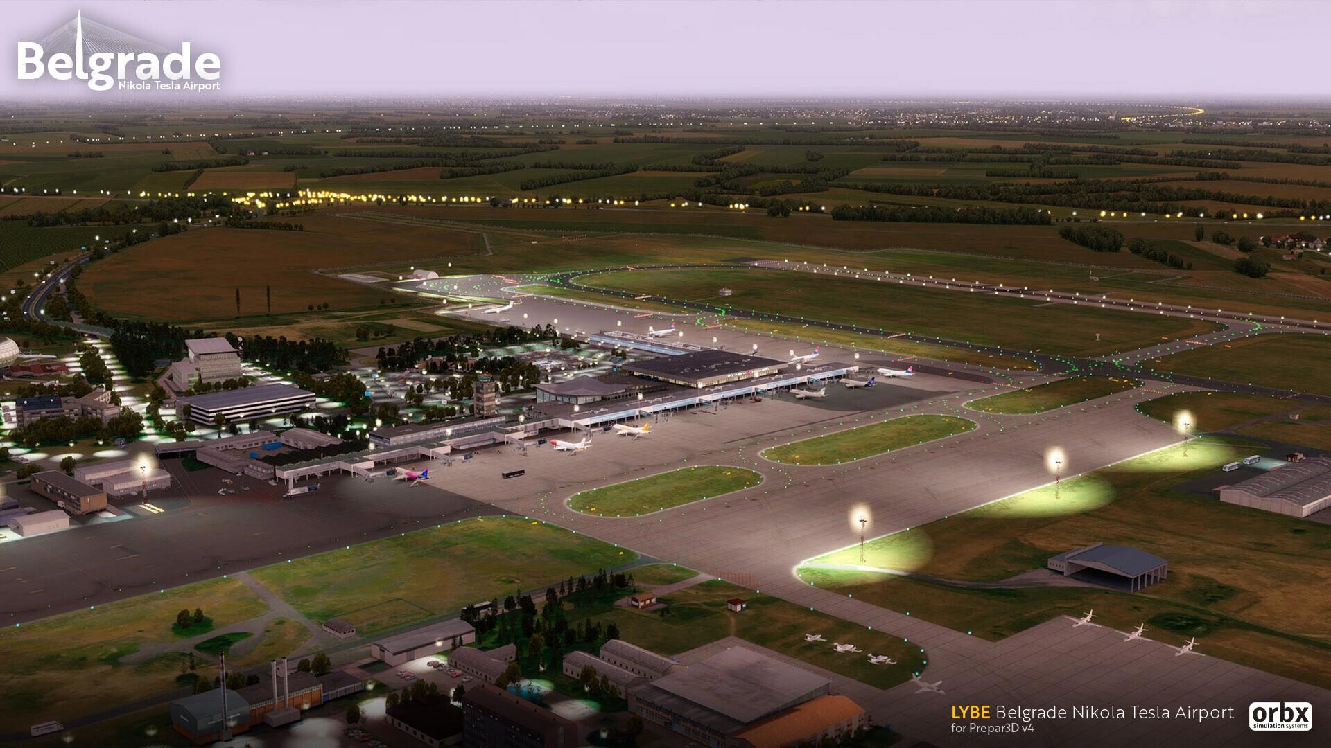 LYBE Belgrade Nikola Tesla Airport