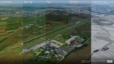 LYBE Belgrade Nikola Tesla Airport screenshot