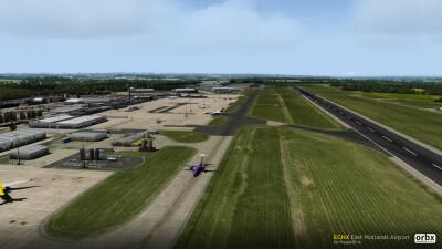 EGNX East Midlands Airport screenshot
