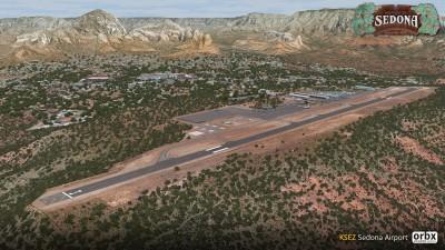 KSEZ Sedona Airport screenshot