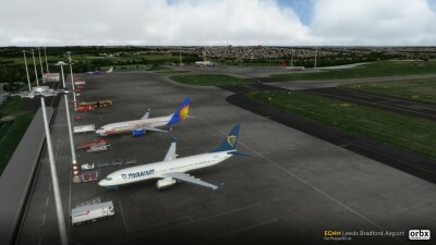 EGNM Leeds Bradford Airport screenshot