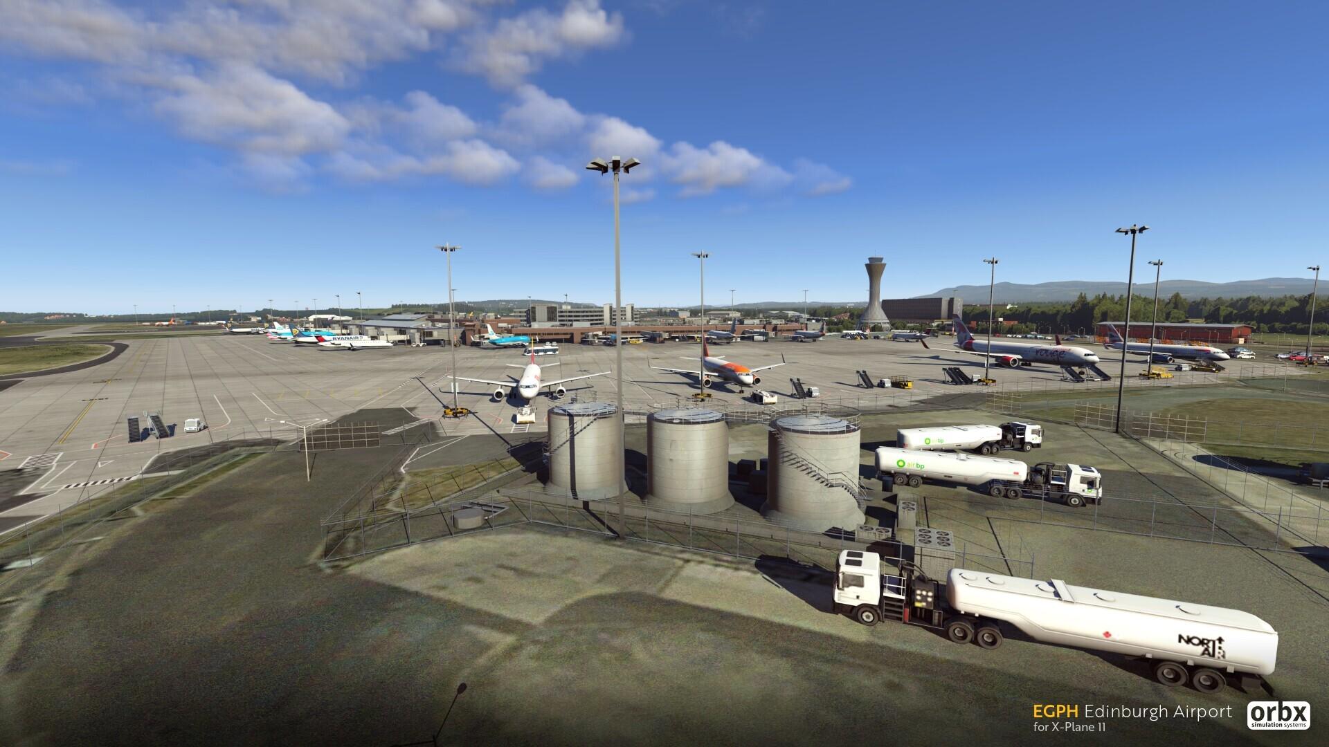 EGPH Edinburgh Airport - X-Plane 11