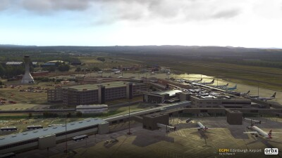 EGPH Edinburgh Airport - X-Plane 11 screenshot